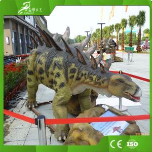 China Outdoor and Indoor Playground Equipment Animatronics Stegosaurus on sale