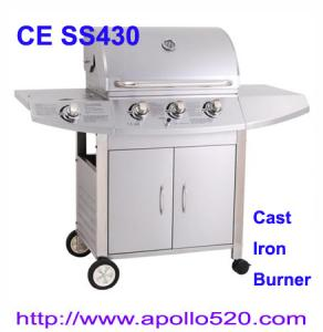 China Stainless Steel Gas Barbeque on sale