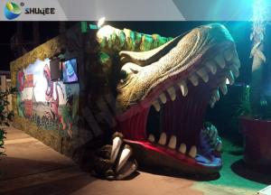 China Electric Dynamic 7D Cinema System Dinosaur House In Entertainment Places on sale