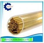 Tubo do furo EDM/tubulação de bronze dobro de Eletrode para a máquina de perfuração 0.7x400mmL de EDM