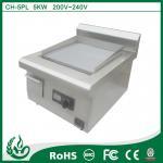 High Efficiency Electric Induction Griddle , Induction Pancake Griddle 220v