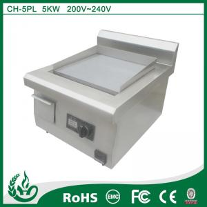 China home appliance Induction Cooking Fast Food Chain Griddle on sale