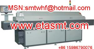China hot air lead-free reflow Oven with six heating-zones ETA A600 on sale