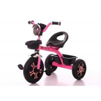 3 Wheels Childrens Ride On Toys Baby Pushing Toys 3-4 Km/H Speed , Easy To Carry