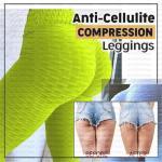 wholesale  Anti-Cellulite Compression Leggings Cellulite Oppressing Mesh Fat Burner Design Weight Loss Yoga Leggings Com