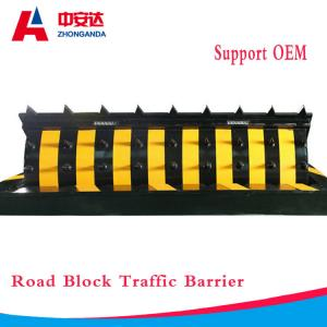 China Road Blocker Hydraulic Security Spike Road Blocker System Traffic Safety Barrier for Roadway on sale