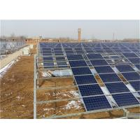 Customized Greenhouse Solar System Power Bracket With 1.4KN/M2 Max Snow Load