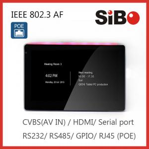 China SIBO In Wall Flush Tablet with wifi POE App remote control For Home Automation on sale