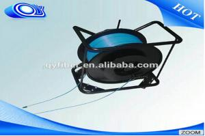 China Military Grade Fiber Optic Cable Reel For Broadcast Vehicles , Indoor Tactical Fiber Cable on sale