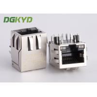 10 Pin Receiver Filter RJ45 jack with internal isolation transformer 1000 BASE