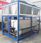 3n / l'air de 380v/50hz 108kw a refroidi le refroidisseur d'eau de refroidissement de réfrigérateur de rouleau avec l'échangeur de chaleur pour l'industrie RO-40A
