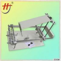 China Hengjin Factory Price Cheap Manual Screen Printer for Plastic Cup Bottle Mug