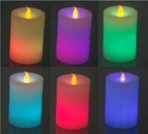 China 2014 HOT SALE Rechargeable Led Candle on sale