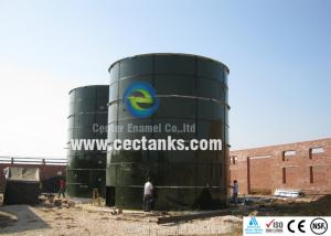 China Glass Coating Leachate Storage Tanks / 10000 gallon steel water tank on sale