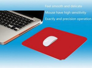China Aluminium Alloy Game Promotional Mouse Pad Comfortable Non Slip For Gamer on sale