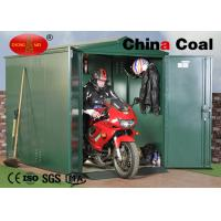 Super Green Garage Container Logistics Equipment For Motorcycle