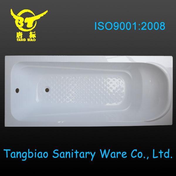Hot acrylic simple bathtub,built-in acrylic bathtub price for sale ...