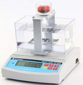 China High Accuray Rubber Density Meter Automatically Judge With Thermometer on sale
