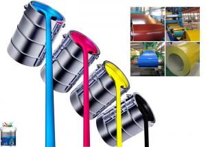 China Eco Friendly Metallic Water Based Paint High Grade Resin Roller Coating supplier