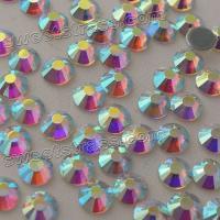China Crystal AB MC Hot Fix Rhinestone Strass Wholesale Women Garment Bags Accesorries Gemstones HOTFIX Flat Back Rhinestones on sale