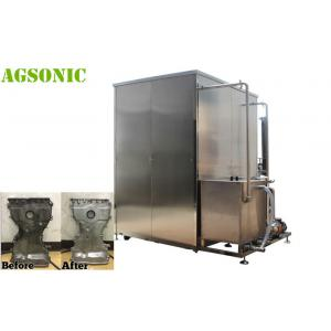 China Large Size High Power Cylinder Block Industrial Ultrasonic Cleaner For Diesel  Block  28KHZ on sale