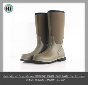 China 2015 Mens Gum Boots,Safety Boots With Hard Rubber Toe,Working Boots,Rubber Rain Boots on sale