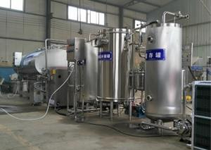 China Delicious Flavour Dairy Yogurt Processing Equipment Small Scale For Plastic Bottled on sale