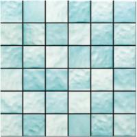 Custom Size Ceramic Mosaic Tile For External Decoration / Mosaic Kitchen Tiles