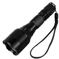 Aluminum Alloy High Lumen LED Camping Flashlight Electric Torch Light 145X40X27 mm