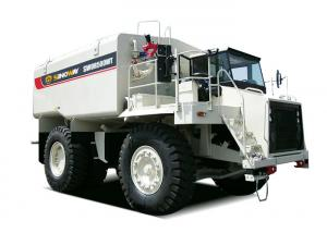 China 40 M3 Heavy Duty Rigid Water Truck , 42 Ton Mining Water Tanker Truck on sale