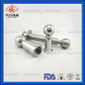 China Stainless Steel Tank Cleaner Spray Ball Cleaning Sanitary Clamped Rotary Cleaning Ball on sale