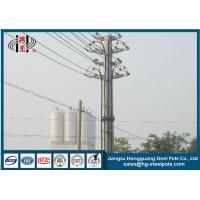 China Yixing Steel Octagonal Anti-corrosive Power Transmission Pole Q345 on sale