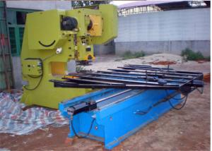 China Different Hole Perforated Sheet Making Machine , Perforated Metal Sheet Machine on sale