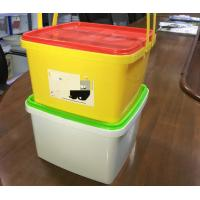 PP Material Disposable Plastic Containers Food Packaging Iml In Mould Labeling