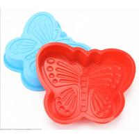 China Non - Stick Silicone Butterfly Cake Mould Animal Shape Bake Evenly For Candy Chocolate on sale
