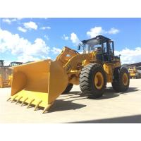 China 5t wheel loader Articulated boom loader with joystick,rock bucket,weichai engine on sale