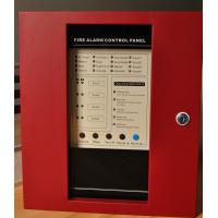 4 zones conventional fire alarm control panel