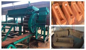 China Rotary Logo Brick Making Machine Made by Henan Ling Heng Machinery Company on sale