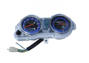 China 100000KM Motorcycle Speedometer Kit , CG TITAN150 ES/KS AZUL Motor Gauges on sale