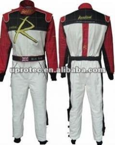 China Fashion Nomex Men Motorcycle / Auto Race Suit FR and Flexible Car Racing Suits on sale