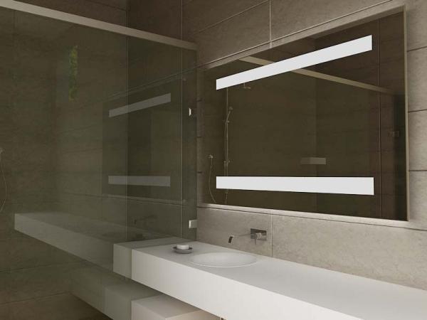 Luxury Smart TV LED Light Up Bathroom Mirror With Bluetooth ...
