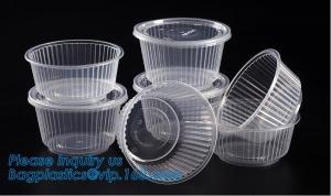 China 6 Plastic Clear Round Food Serving Bowl,Wholesale Cheap Eco-friendly Food Grade PP Reusable Plastic Bowl bagease pac on sale