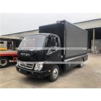 China Foton Mobile LED Screen Truck Billboard Display for Outdoor Road Advertising on sale
