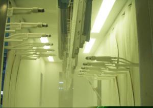 China Easy Operated Paint Coating Lines CE Certified Auto Spraying Paint Line Systems on sale