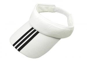 China Cotton Tennis Sports Sun Visor Hat Plain Bright Color Breathable Headwear on sale