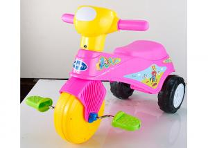 China Colorful Plastic Kids Ride On Toys Tricycle Balance Sliding With Removable Pedal on sale