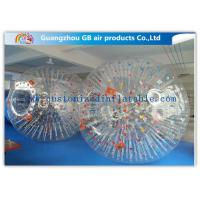 Big Transparent Inflatable Bubble Ball /  Hamster Ball Popular Adults Soccer Sports