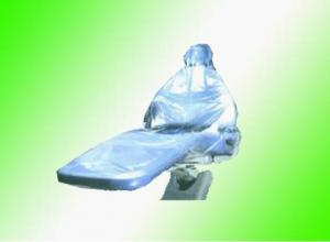 China Dental Assisting Tools Clear Plastic Half / Full Chair Head Rest Sleeve on sale
