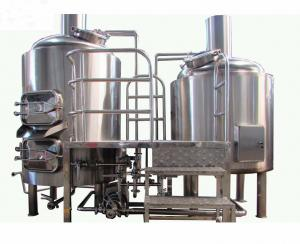 China Stainless Steel  2 Vessel Brewhouse 20BBL Brewery Equipment With Electric Heating on sale