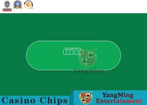 China Brand New Design And Customization Of Texas Hold'Em No Word Printing Club Game Special Waterproof Game Tablecloth on sale
